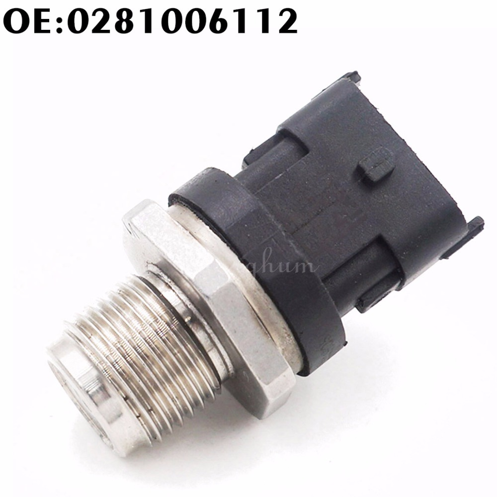 1800 Bar Fuel Rail High Pressure Sensor 0281006112 Common Injection 0281006325 0281002846 0281002937 For Cummins IVECO DAF MAN