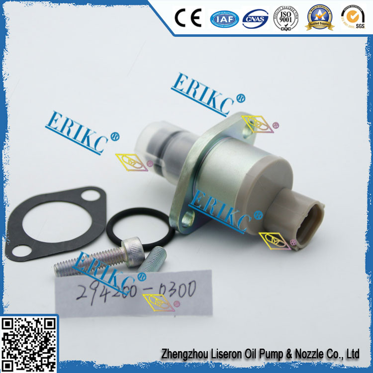 ERIKC 294200 0300 common rail pressure control selenoid valve 294200-0300 Suction control valve 2942000300 for c.rail pump