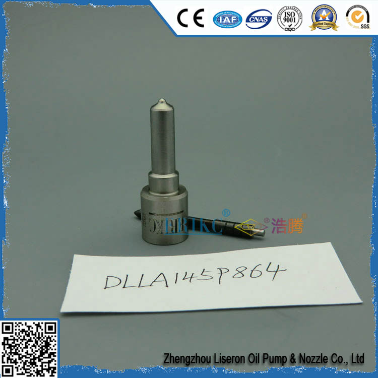 ERIKC DLLA145P864 (093400 8640) common rail spare parts spray nozzle and fuel pump injection nozzle DLLA 145 P864 (0934008640)