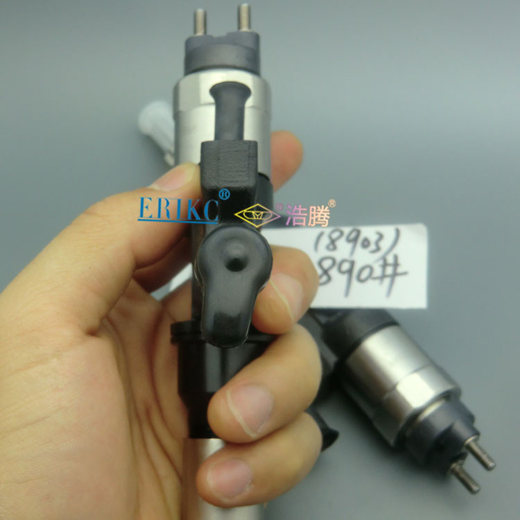 ERIKC injection 8904 diesel fuel common rail injector 095000-8904 (8981518373) and spray nozzle gun 0950008904