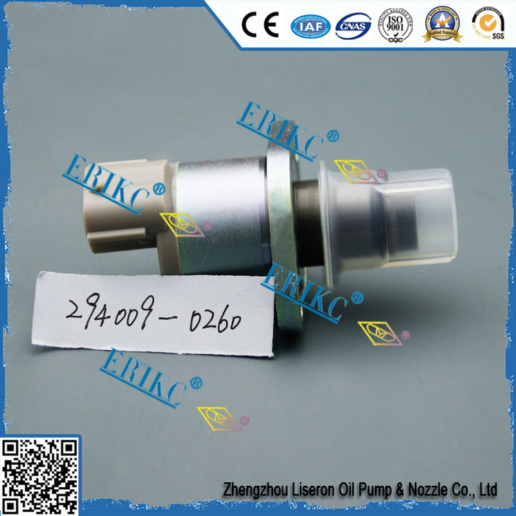 ERIKC Suction Control Valve 294009-0260 Fuel Pressure Control Valve Regulator 2940090260 Cr. fuel pump 294009 0260