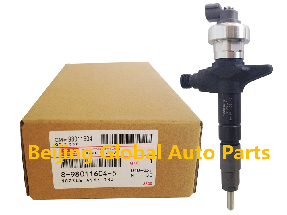 Genuine Injector 095000-6980 095000-6983 095000-6100 095000-698 for 8980116045 8-98011604-5