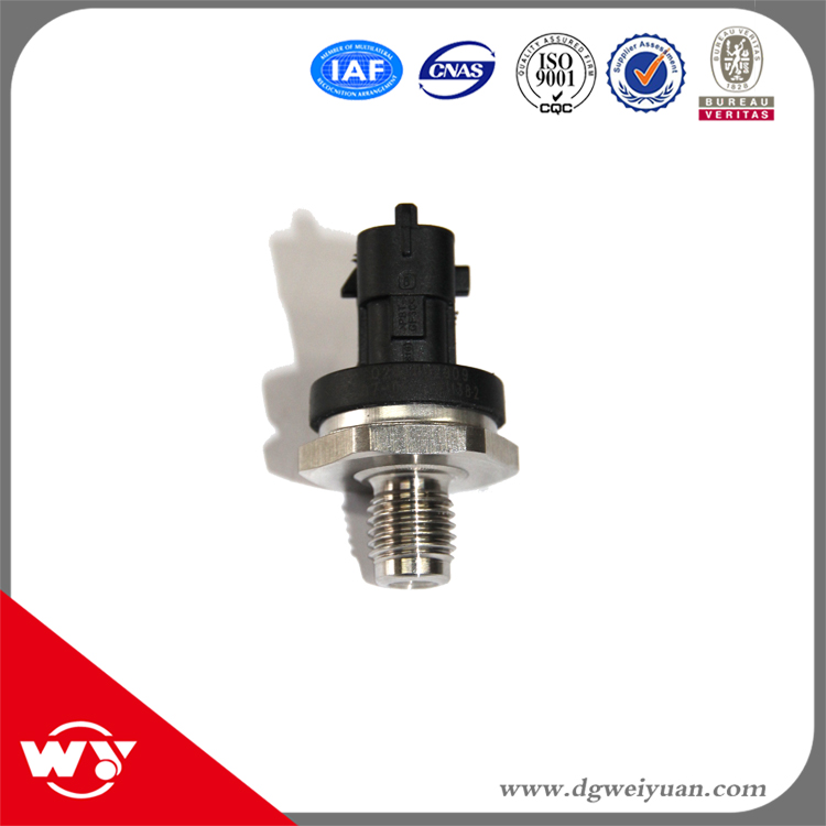 2pcslot Auto Parts Diesel Fuel Rail Injection Pressure Sensor For Cumnins ISBe ISF ISLe QSL ISDe DAF Iveco 0281006325