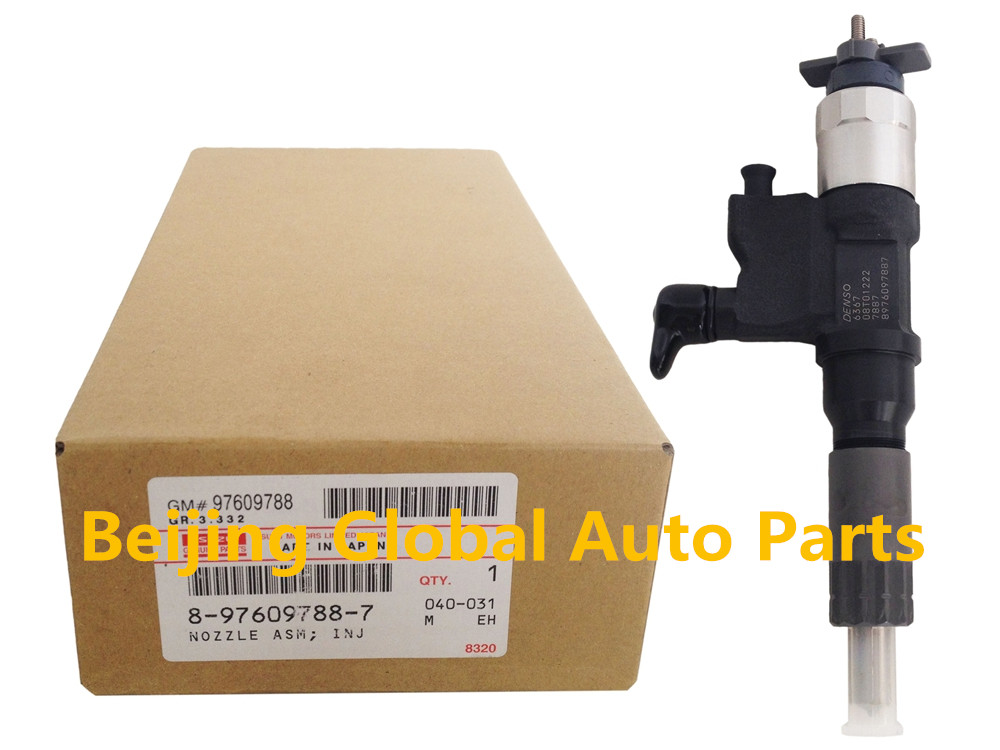 Genuine Injector 095000-6366 095000-6367 095000-636 with Other No.8-97609788-7 8976097887