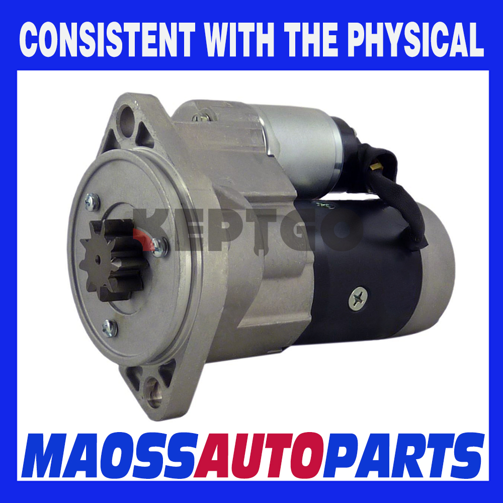 Starter 4TNV98 4TNV98T For Yanmar S13-204 129900-77010 SE50 AT211995 18491
