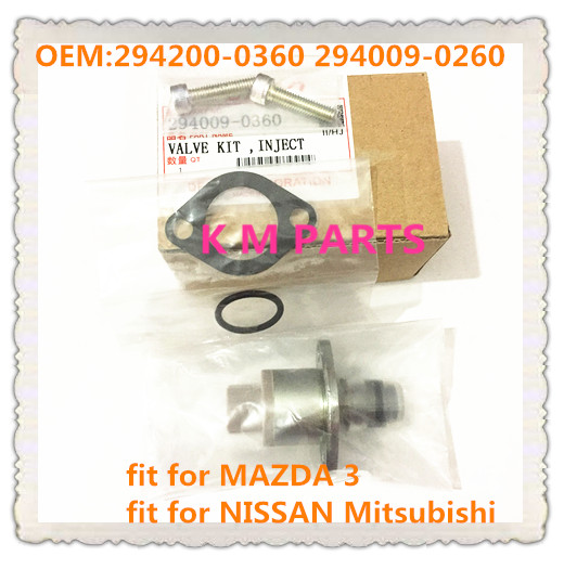 TOP QUALITY NEW DIESEL SCV VALVE Suction Control VALVE SCV valve for MAZDA 3 for NISSAN for Mitsubishi 294200-0360 294009-0260