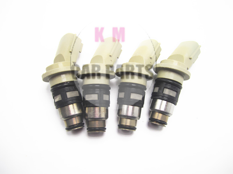 1xrebuit but good Fuel InjectorS injection nozzle A46H02 For NISSAN Micra II K11 16600-73C00 A46-H02 1660073C00 A46H02