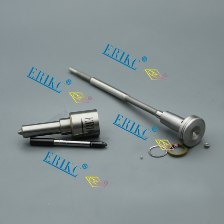 ERIK nozzle DLLA160P1063 + valve F 00V C01 310 CRI injector fuel pump repair kit for injection 0445110131 0986435084
