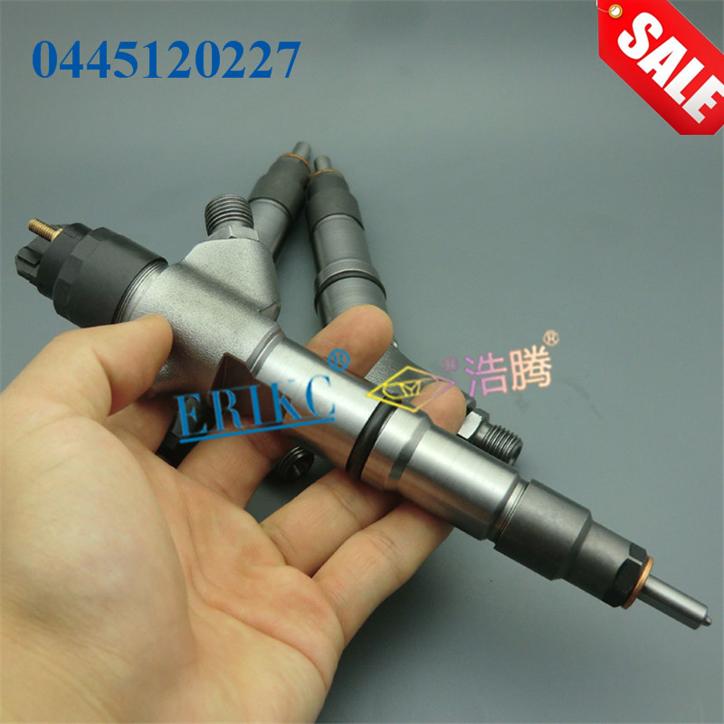 ERIKC 0 445 120 227 Original Truck Injector 0445120227 Inyector Nozzle Spray 0445 120 227 Auto Fuel for WEICHAI 61260008097
