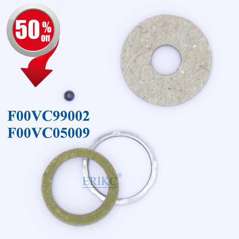 ERIKC Gasket F00VC99002 and F00VC05009 Injector Seal Install Tool Kits Series Repair Kits Ceramic Ball 1.50mm Repair Kits