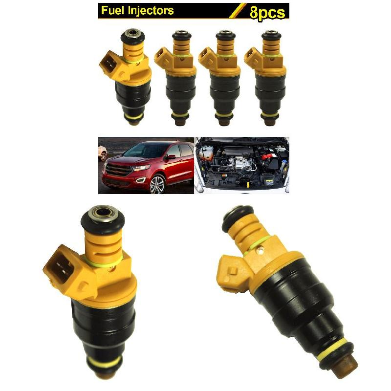 8Pcs Car Fuel Injectors for Ford 4.6 5.0 5.4 5.8 Replaces 0280150943 CSL2017
