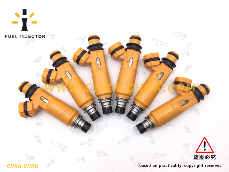 Fuel Injector:195500-3300 For Mitsubishi Montero Sport 3.5L V6 195500 3300 Car Styling High Performance