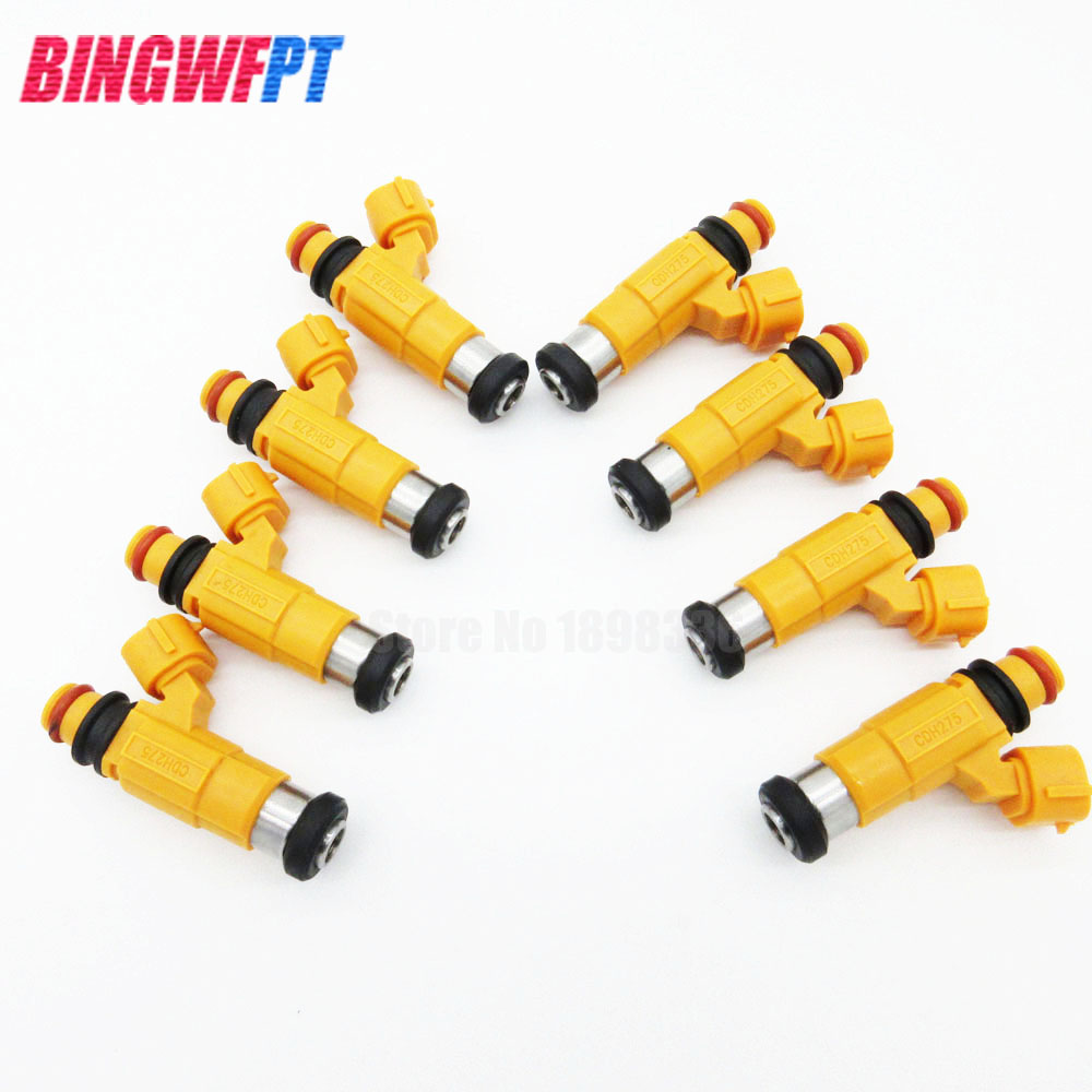 8pcs/Lot Fuel Injector For Montero Sport Diamante Eclipse Galant 2.4L 3.0L 3.5L 6G72 CDH275 MD319792 1997-2014 High Quality