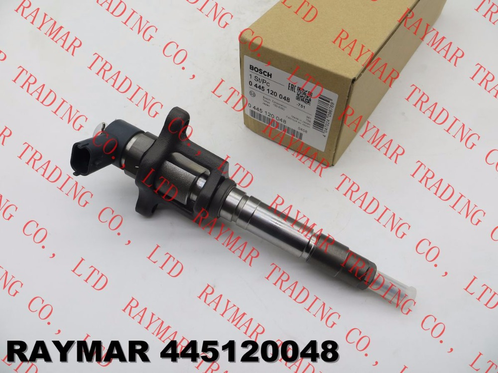 Genuine common rail fuel injector 0445120048 for MITSUBISHI FUSO 4M50 ME222914, ME226718