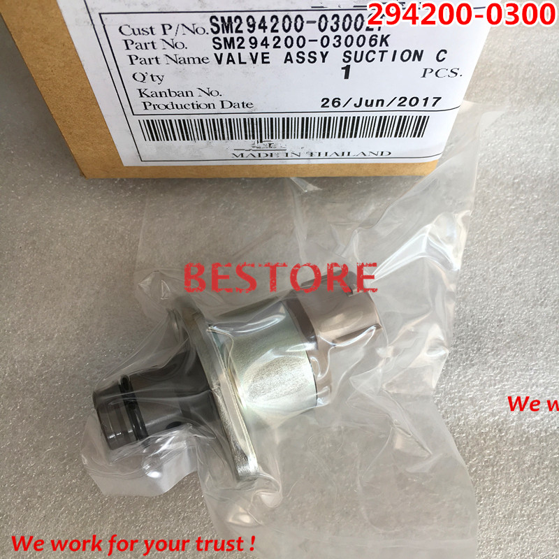 Original and New Suction control valve 294200-0300 , 2942000300, 294200-0301 in stock