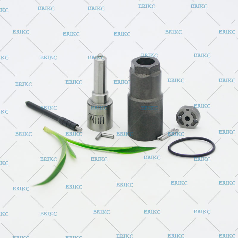 ERIKC 23670-09060 Fuel Injector Nozzle DLLA145P1024 Repair Kits Control Valve Orifice Plate 07# Nozzle Nut Sealing Rings
