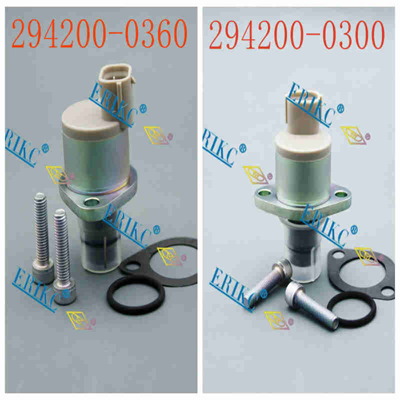 ERIKC 294200-0360 294200-0260 Fuel Pump Metering Solenoid Valve 294200-0260 pump pressure regulator unit 294200-0300