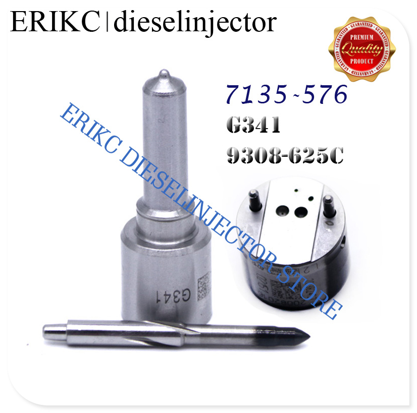 ERIKC 7135-576 overhaul kit include G341 injector nozzle 9308-625C check valve for FIAT FORD EMBR00101D