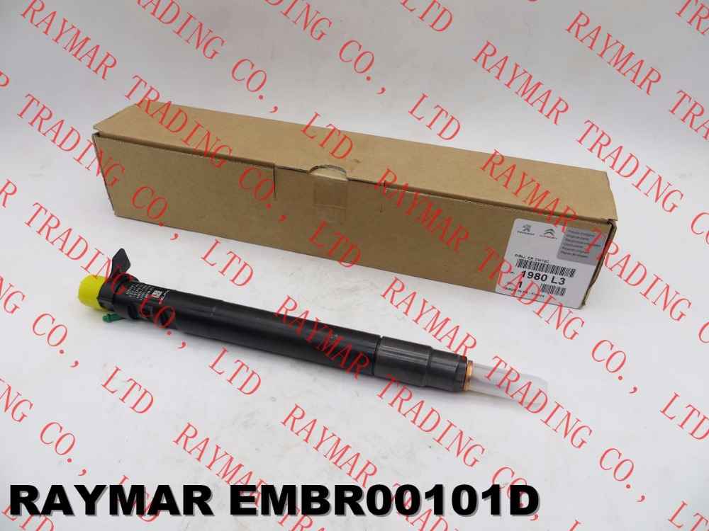 Genuine common rail fuel injector EMBR00101D, EMBR00101DP, R00101D for Citroen, P/eugeot 1980L3, FIAT 9686191080