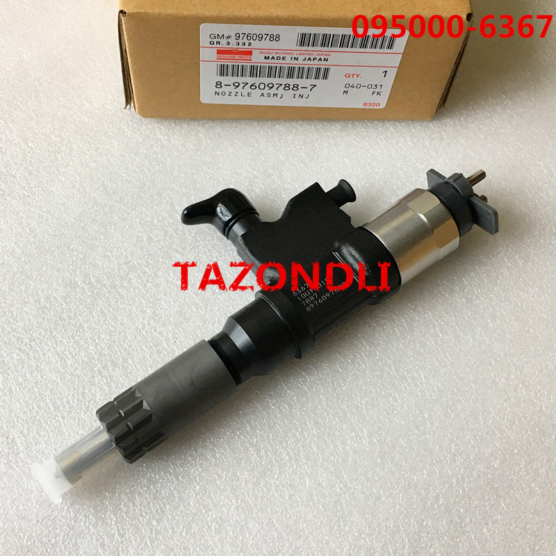 Original and New Common Rail Injector 095000-6367 095000-6363, 095000-636# for 8-97609788-7, 8976097887