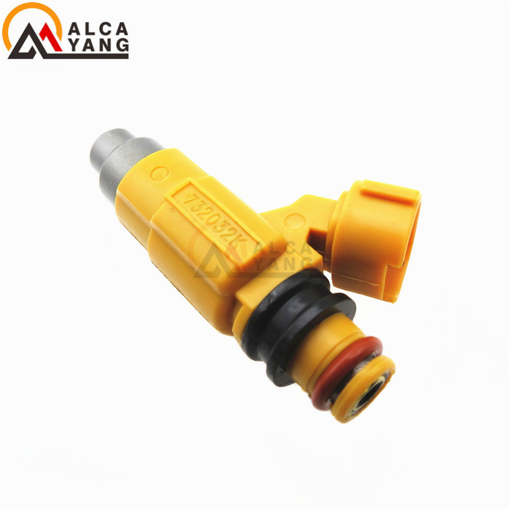 4PCS Flow Tested fuel nozzle 63P-13761-00-00 for Yamaha Outboard 150 HP Fuel Injectors 63P1376100-00 CDH275