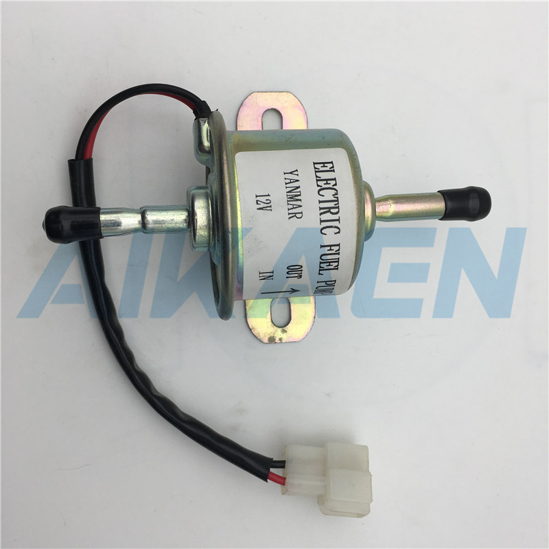 High Quality New Electric Fuel Pump 129612-52100, 12 Volt DC For Yanmar 4TNV88 3TNV88 4TNV94 4TNV98