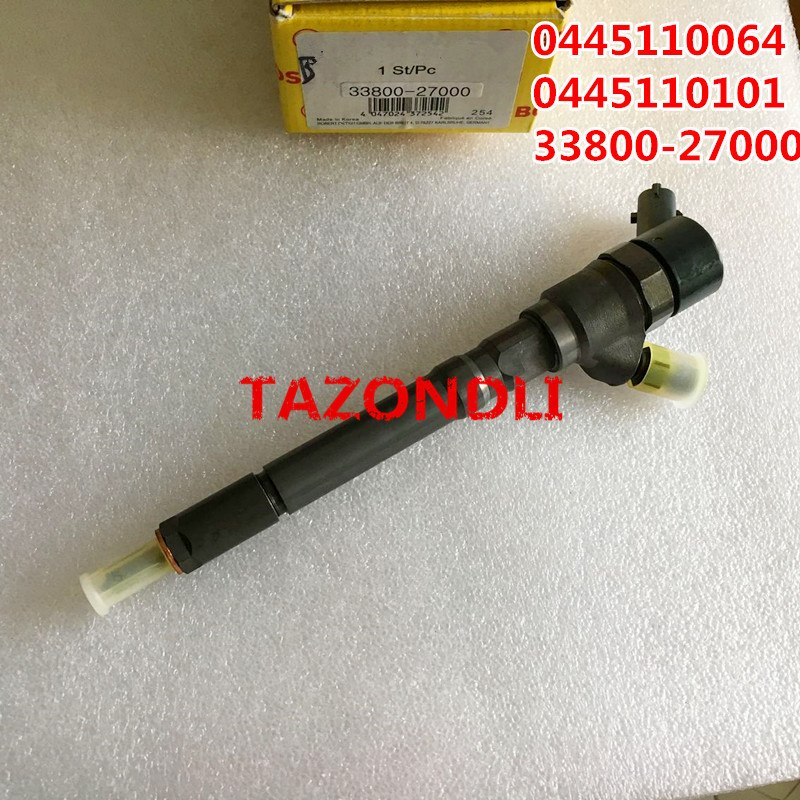 0445 110 064 Original and new Common rail injector 0445110064,0 445 110 101,0445110101 for 33800-27000, 33800-27010