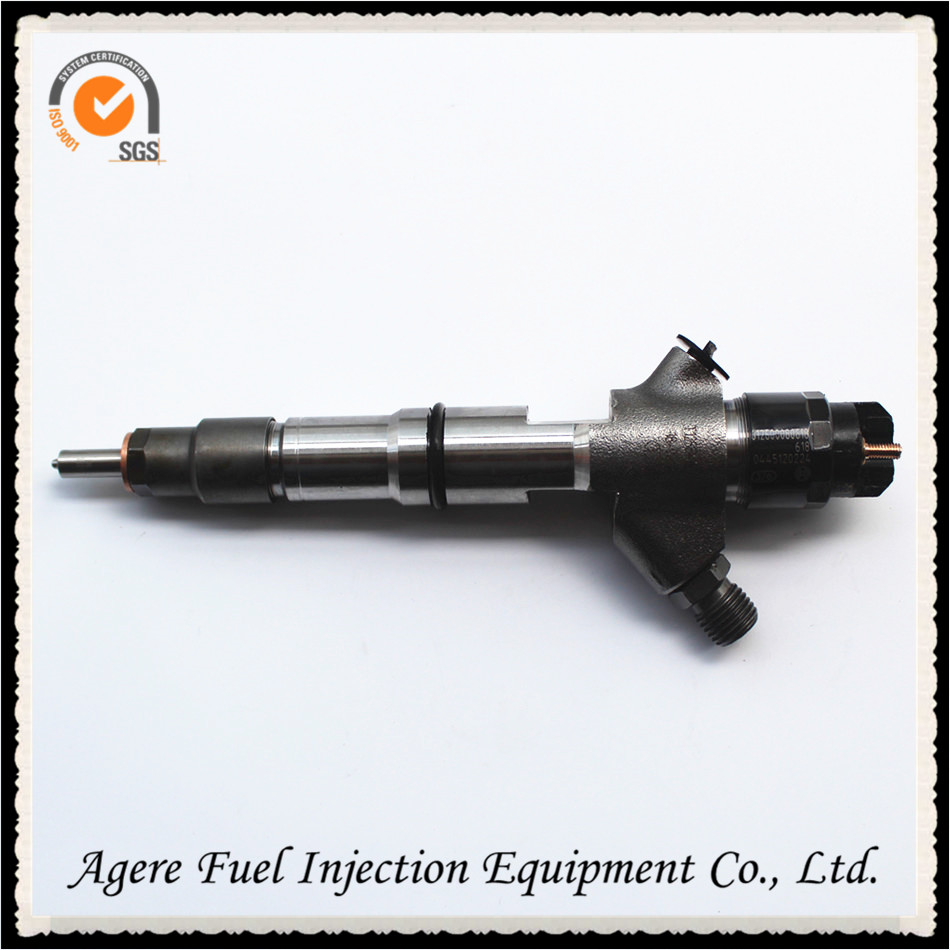 high quality diesel engine parts common rail 0445120224 original injector for Weichai WP10, 612600080618
