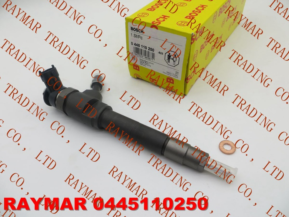 GEUINE Common rail injector 0445110250 for MAZDA BT-50 WLAA-13-H50, WLAA13H50