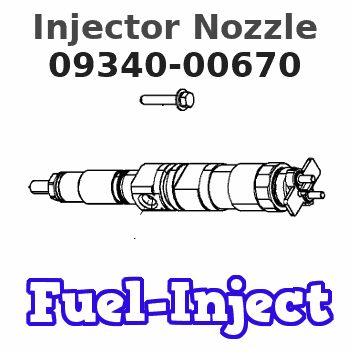 09340-00670 Injector Nozzle