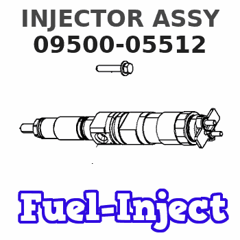 09500-05512 INJECTOR ASSY