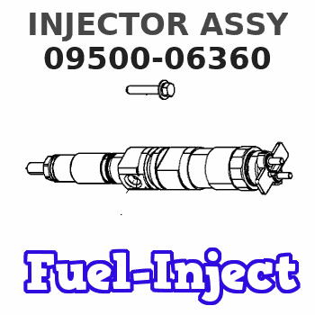 09500-06360 INJECTOR ASSY