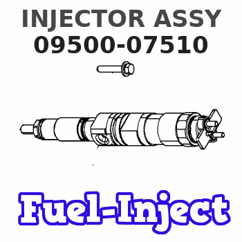 09500-07510 INJECTOR ASSY