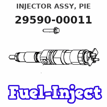 29590-00011 INJECTOR ASSY, PIE