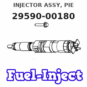 29590-00180 INJECTOR ASSY, PIE