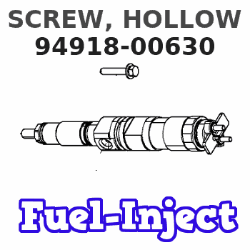 94918-00630 SCREW, HOLLOW
