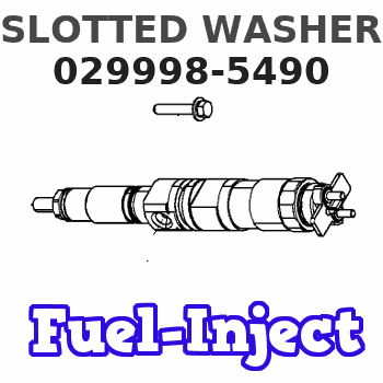029998-5490 SLOTTED WASHER