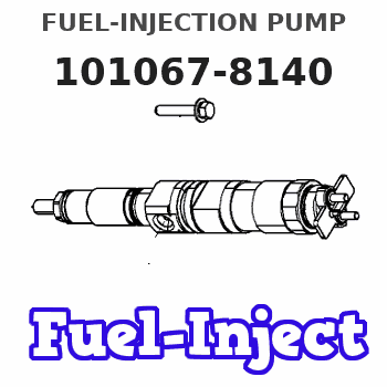 101067-8140 FUEL-INJECTION PUMP