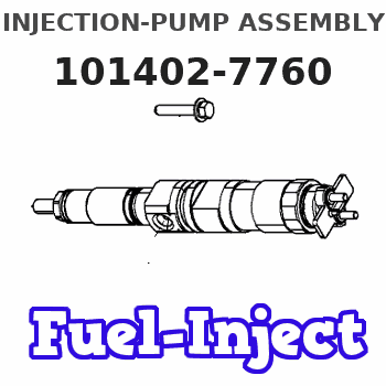 101402-7760 INJECTION-PUMP ASSEMBLY