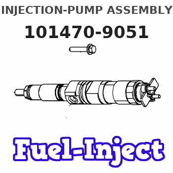 101470-9051 INJECTION-PUMP ASSEMBLY
