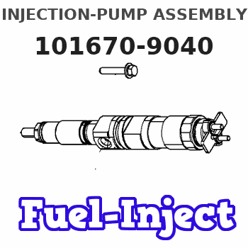 101670-9040 INJECTION-PUMP ASSEMBLY