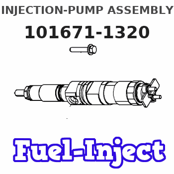 101671-1320 INJECTION-PUMP ASSEMBLY