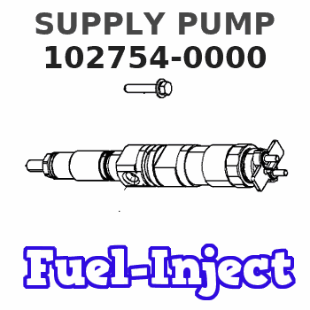 102754-0000 SUPPLY PUMP