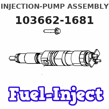 103662-1681 INJECTION-PUMP ASSEMBLY