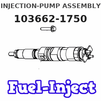 103662-1750 INJECTION-PUMP ASSEMBLY