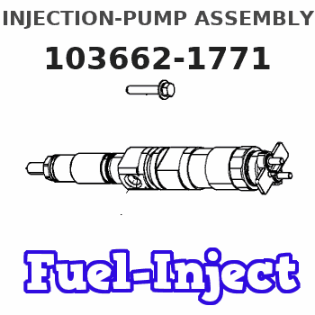 103662-1771 INJECTION-PUMP ASSEMBLY