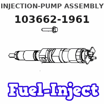 103662-1961 INJECTION-PUMP ASSEMBLY