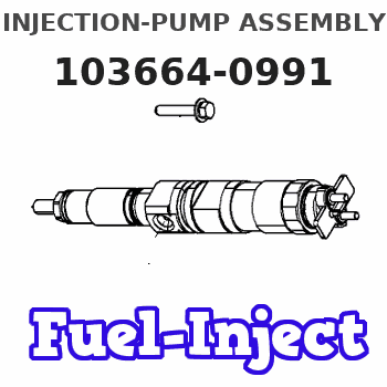 103664-0991 INJECTION-PUMP ASSEMBLY