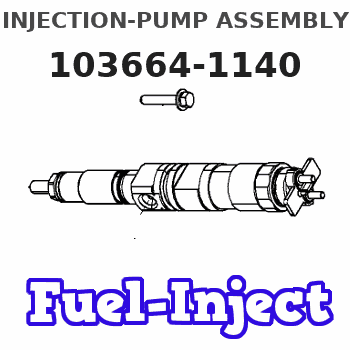 103664-1140 INJECTION-PUMP ASSEMBLY