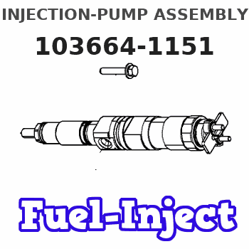 103664-1151 INJECTION-PUMP ASSEMBLY
